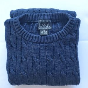 Jos. A. Bank cable knit sweater
